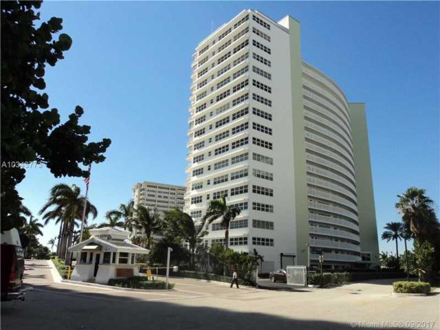 2000 S Ocean Dr #509, Fort Lauderdale, FL 33316 (MLS #A10343773) :: Green Realty Properties