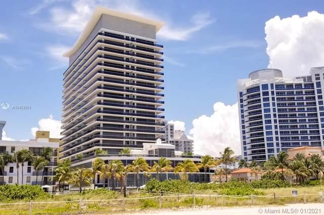 5875 Collins Av #704, Miami, FL 33140 (MLS #A10403501) :: Jo-Ann Forster Team