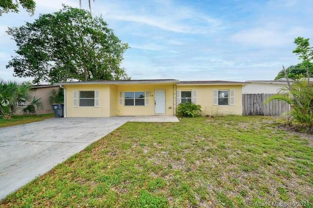 316 SW 80th Terrace, North Lauderdale, FL 33068 (MLS #A11046282) :: Dalton Wade Real Estate Group