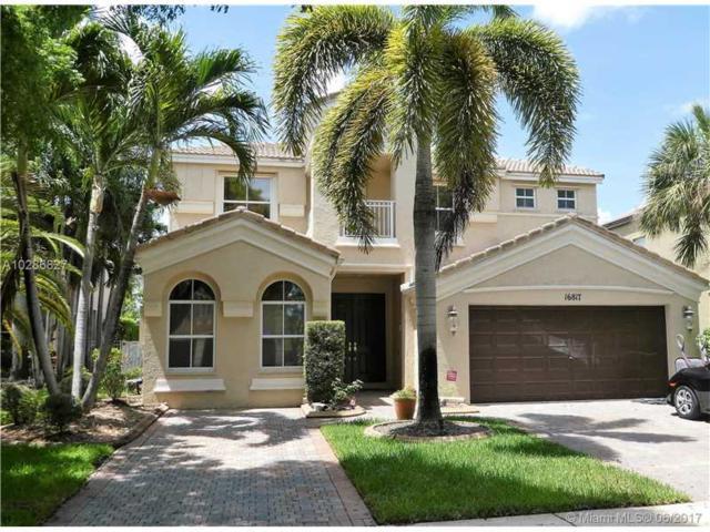 16817 SW 51st St, Miramar, FL 33027 (MLS #A10286827) :: Christopher Tello PA