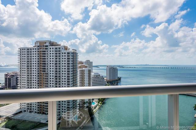 465 Brickell Ave #2501, Miami, FL 33131 (MLS #A10658880) :: Berkshire Hathaway HomeServices EWM Realty