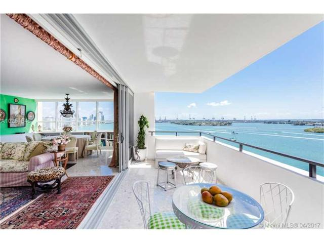 11 Island Ave #1401, Miami Beach, FL 33139 (MLS #A10251845) :: The Teri Arbogast Team at Keller Williams Partners SW