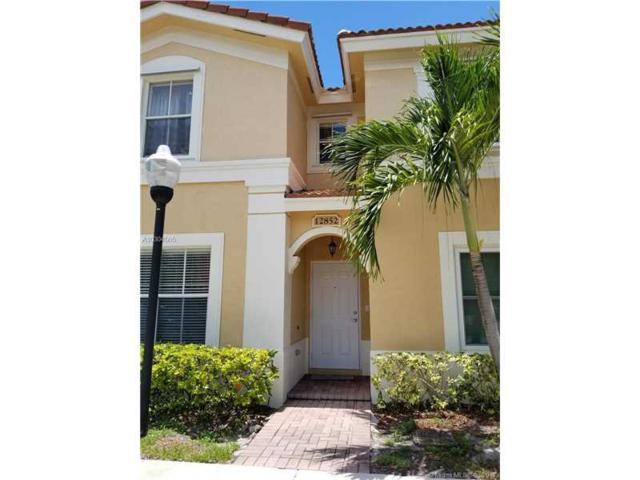 12852 SW 31st Ct #103, Miramar, FL 33027 (MLS #A10304505) :: Green Realty Properties