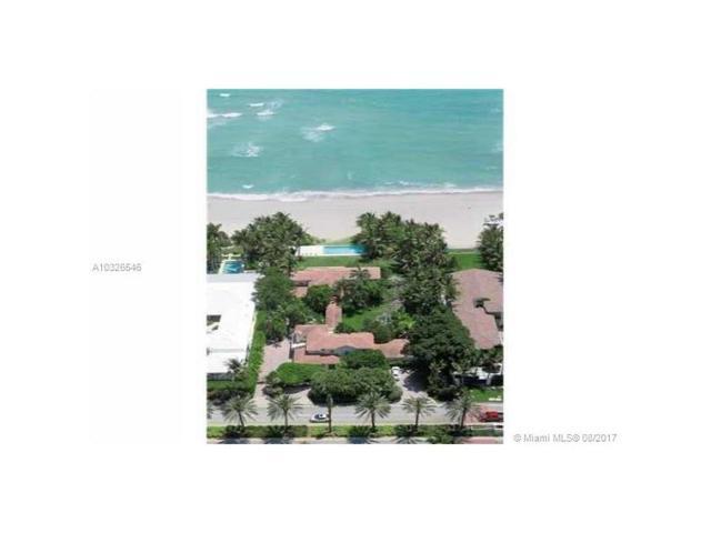 115 Ocean Blvd, Golden Beach, FL 33160 (MLS #A10326546) :: Green Realty Properties