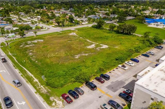 56 SW Ave, Pembroke Park, FL 33023 (MLS #A10526716) :: The Rose Harris Group