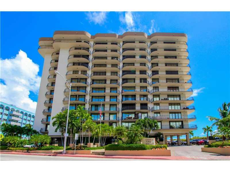8777 Collins Ave #603, Surfside, FL 33154 (MLS #A10105822) :: United Realty Group