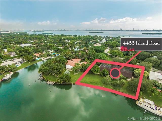4455 Island Rd, Miami, FL 33137 (MLS #A2202507) :: Ray De Leon with One Sotheby's International Realty