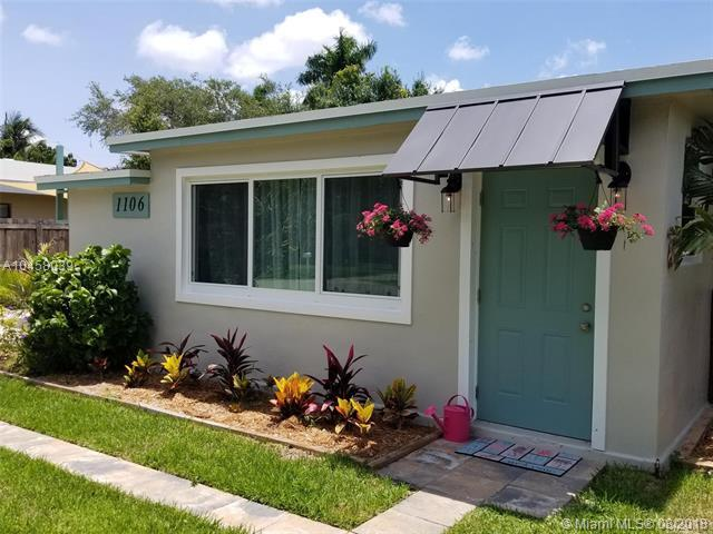 1106 NW 7th Terrace, Fort Lauderdale, FL 33311 (MLS #A10458039) :: The Teri Arbogast Team at Keller Williams Partners SW