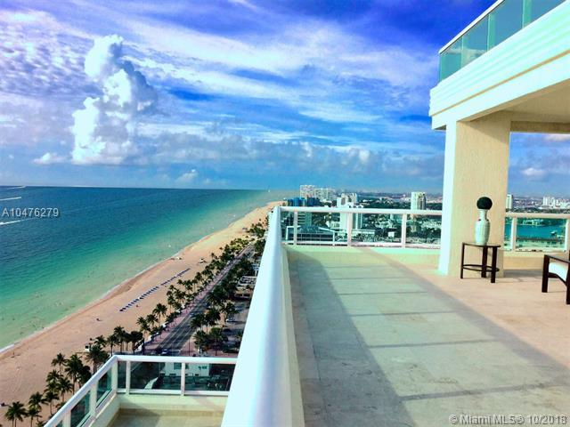 101 S Fort Lauderdale Beach Blvd Ph-2701, Fort Lauderdale, FL 33316 (MLS #A10476279) :: Miami Villa Team