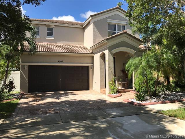 5362 SW 155th Ave, Miramar, FL 33027 (MLS #A10356065) :: RE/MAX Presidential Real Estate Group