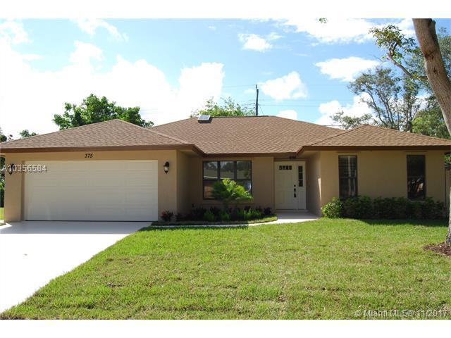 375 Evergreen Avenue, Tequesta, FL 33469 (MLS #A10356584) :: The Teri Arbogast Team at Keller Williams Partners SW
