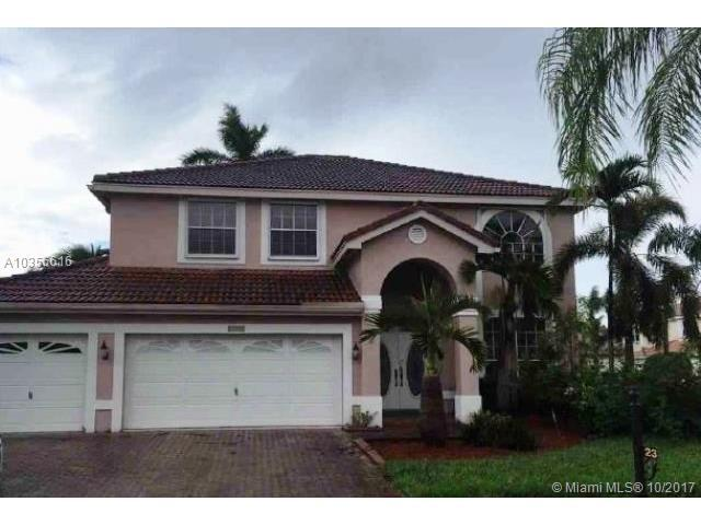 2383 SW 181st Ter, Miramar, FL 33029 (MLS #A10356616) :: RE/MAX Presidential Real Estate Group