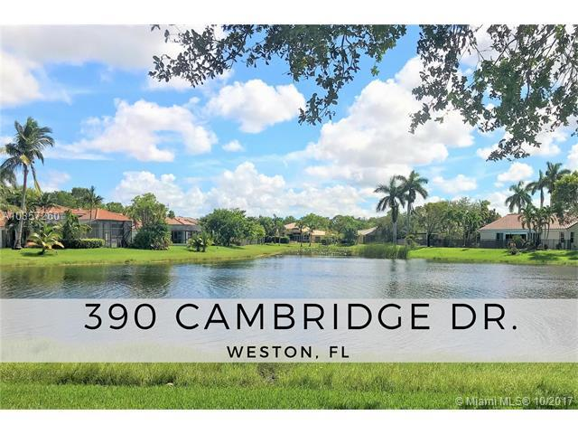 390 Cambridge Dr, Weston, FL 33326 (MLS #A10357260) :: The Chenore Real Estate Group