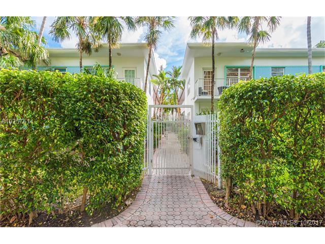 911 Meridian Ave #101, Miami Beach, FL 33139 (MLS #A10357514) :: The Jack Coden Group