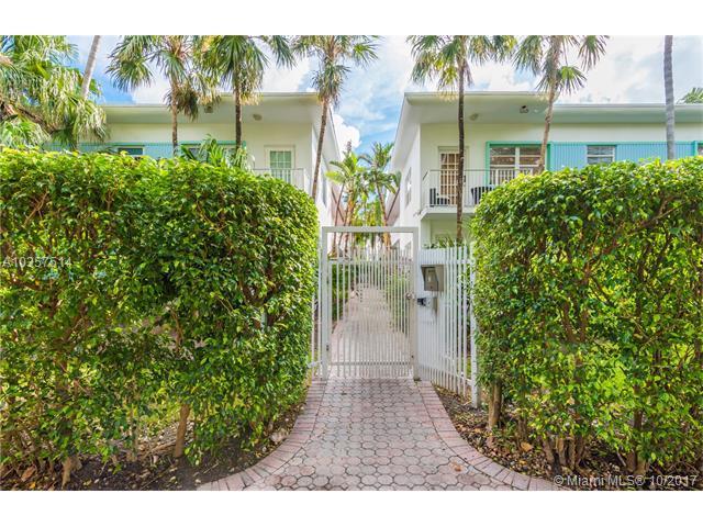 911 Meridian Ave #101, Miami Beach, FL 33139 (MLS #A10357514) :: The Erice Team