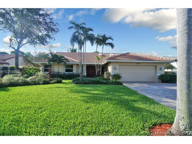 8640 NW 57th Ct, Coral Springs, FL 33067 (MLS #A10359860) :: The Teri Arbogast Team at Keller Williams Partners SW