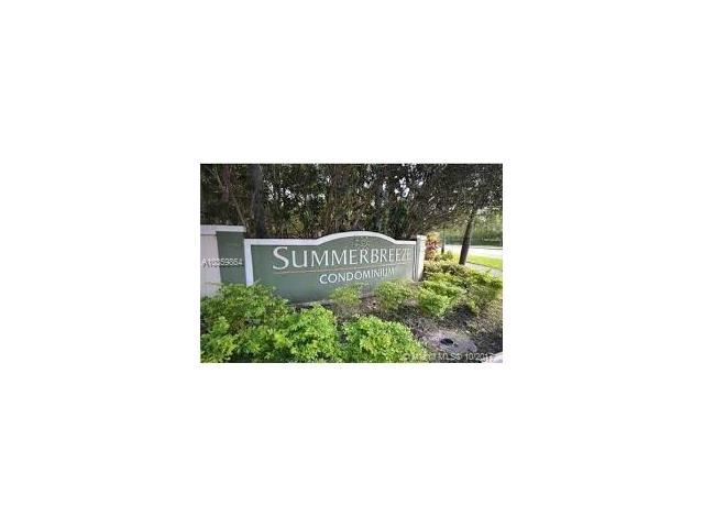 9999 Summerbreeze #212, Sunrise, FL 33322 (MLS #A10359864) :: The Teri Arbogast Team at Keller Williams Partners SW