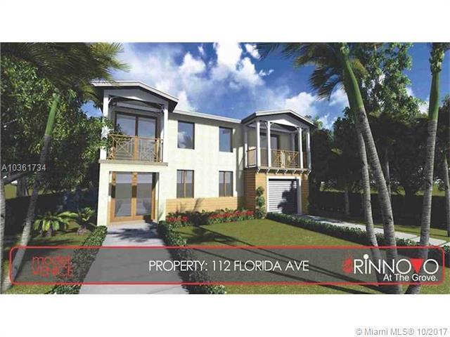 112 Florida Ave, Coconut Grove, FL 33133 (MLS #A10361734) :: The Riley Smith Group