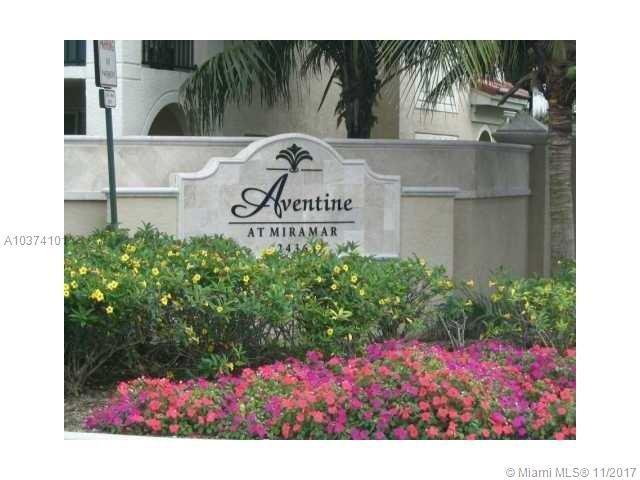 2496 Centergate Dr #106, Miramar, FL 33025 (MLS #A10374101) :: Stanley Rosen Group