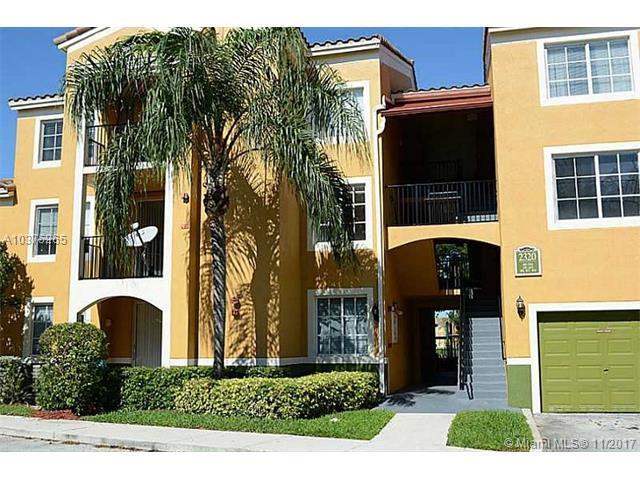 2320 E Preserve Way #201, Miramar, FL 33025 (MLS #A10375265) :: Green Realty Properties