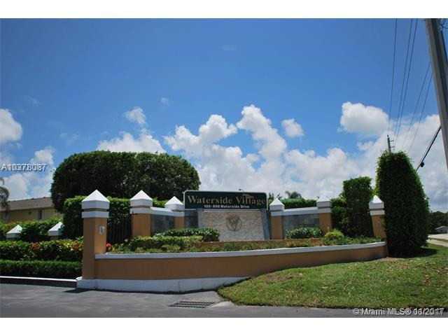 176 Waterside Dr #176, Hypoluxo, FL 33462 (MLS #A10378087) :: The Teri Arbogast Team at Keller Williams Partners SW