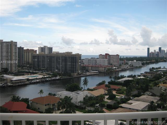 137 Golden Isles Dr #1607, Hallandale, FL 33009 (MLS #A10380879) :: The Chenore Real Estate Group
