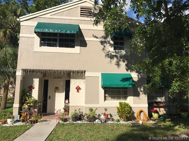 12293 Lake Loop Rd #12293, Cooper City, FL 33330 (MLS #A10383069) :: The Chenore Real Estate Group