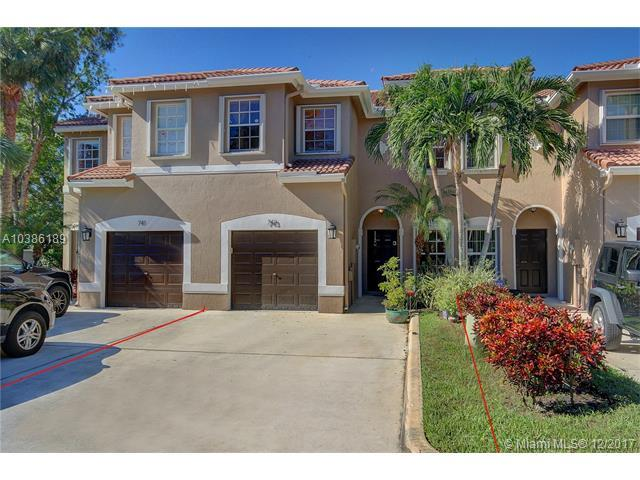 743 NW 132nd Ter #743, Plantation, FL 33325 (MLS #A10386189) :: The Chenore Real Estate Group