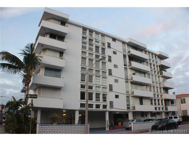 8001 Byron Ave 2-B, Miami Beach, FL 33141 (MLS #A10388886) :: The Erice Team