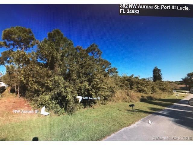 362 NW Aurora St, Port St. Lucie, FL 34983 (MLS #A10390767) :: The Teri Arbogast Team at Keller Williams Partners SW