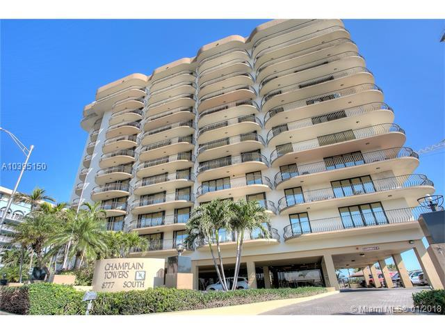 8777 Collins Av #1010, Surfside, FL 33154 (MLS #A10395150) :: Live Work Play Miami Group