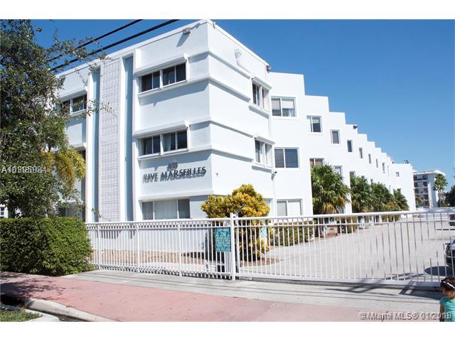 1185 Marseille Dr #201, Miami Beach, FL 33141 (MLS #A10395984) :: The Teri Arbogast Team at Keller Williams Partners SW