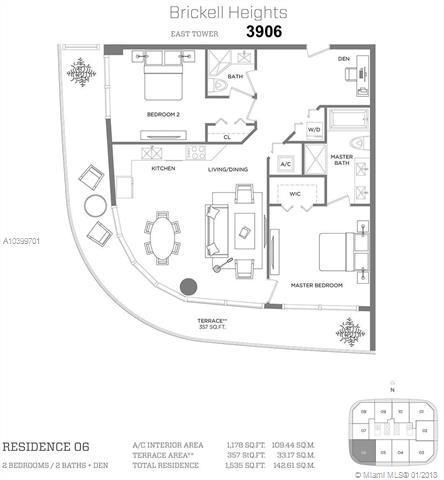 45 SW 9th St #3906, Miami, FL 33131 (MLS #A10399701) :: Calibre International Realty