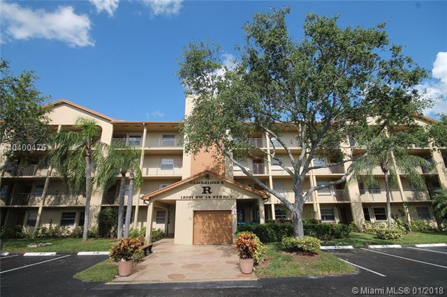 12501 SW 14th St 109R, Pembroke Pines, FL 33027 (MLS #A10400476) :: Castelli Real Estate Services