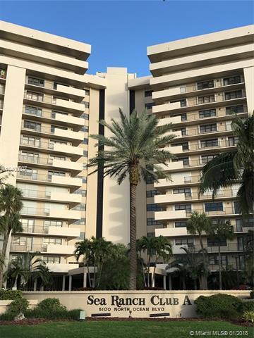 5100 N Ocean Blvd #1113, Lauderdale By The Sea, FL 33308 (MLS #A10400807) :: The Teri Arbogast Team at Keller Williams Partners SW