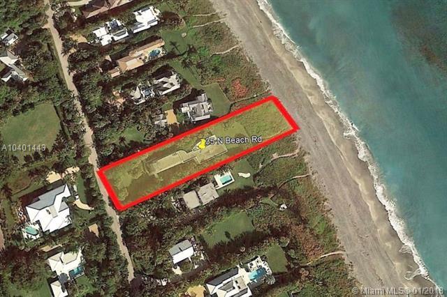 35 N Beach Rd, Hobe Sound, FL 33455 (MLS #A10401443) :: The Teri Arbogast Team at Keller Williams Partners SW