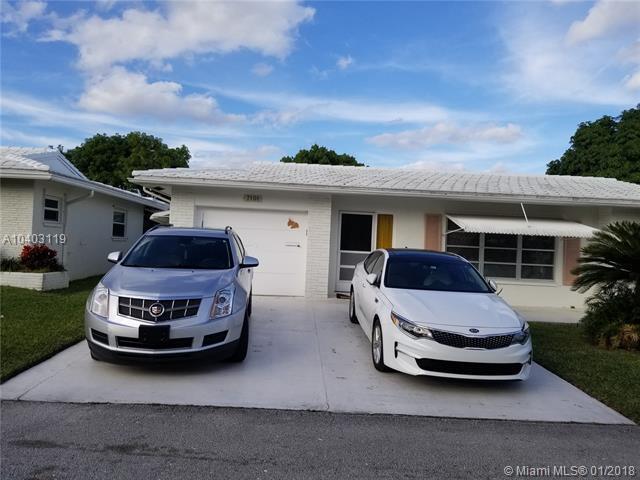 7101 NW 70th Ct, Tamarac, FL 33321 (MLS #A10403119) :: Jamie Seneca & Associates Real Estate Team