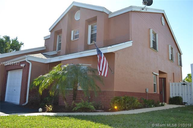 1161 SW 110th Ln #1161, Davie, FL 33324 (MLS #A10403147) :: Green Realty Properties