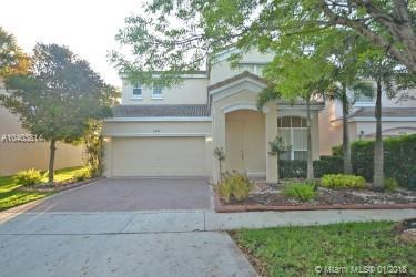 4841 SW 158th Ave, Miramar, FL 33027 (MLS #A10403814) :: The Teri Arbogast Team at Keller Williams Partners SW