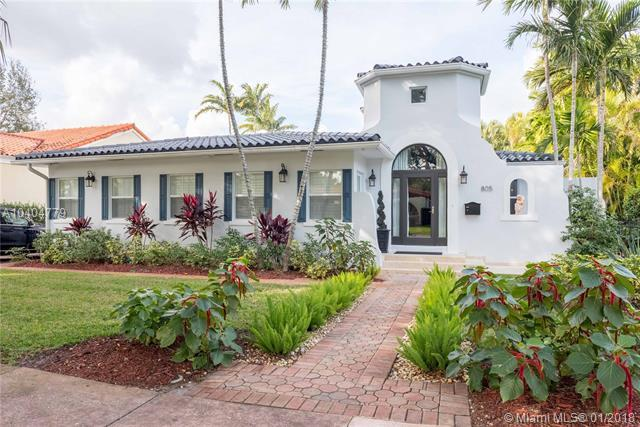 805 Sorolla Ave, Coral Gables, FL 33134 (MLS #A10404779) :: Hergenrother Realty Group Miami