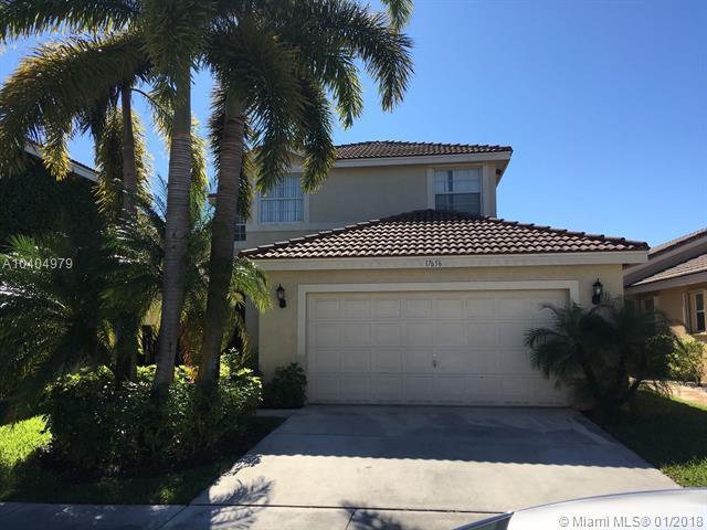17656 SW 32nd St, Miramar, FL 33029 (MLS #A10404979) :: Green Realty Properties