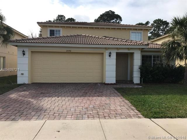 2096 SW Marblehead Way, Port St. Lucie, FL 34953 (MLS #A10409721) :: Prestige Realty Group