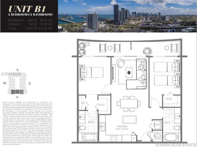 1600 NE 1 Avenue #1109, Miami, FL 33132 (MLS #A10410885) :: The Teri Arbogast Team at Keller Williams Partners SW