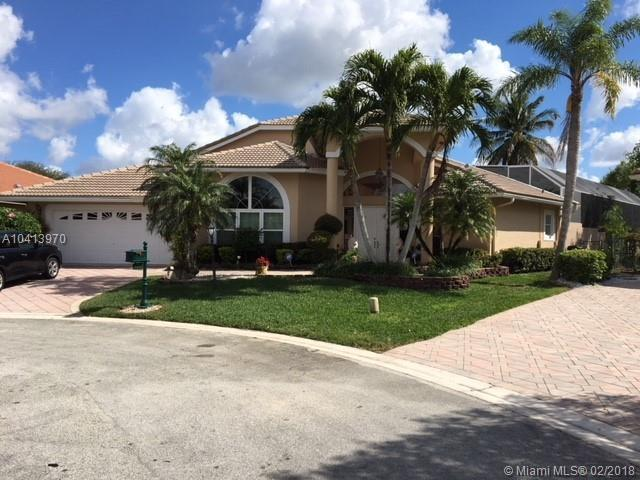 4969 NW 106th Way, Coral Springs, FL 33076 (MLS #A10413970) :: The Teri Arbogast Team at Keller Williams Partners SW