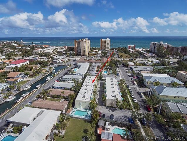 3221 NE 16th St #104, Pompano Beach, FL 33062 (MLS #A10414756) :: Stanley Rosen Group
