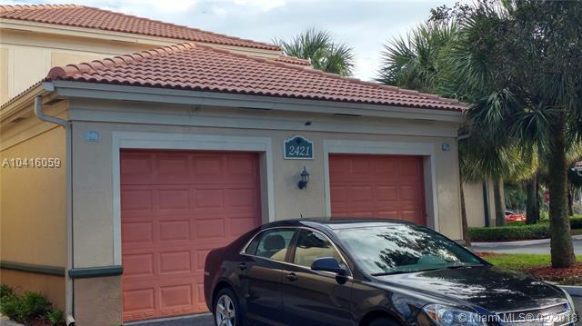 2421 Centergate Dr #103, Miramar, FL 33025 (MLS #A10416059) :: The Teri Arbogast Team at Keller Williams Partners SW