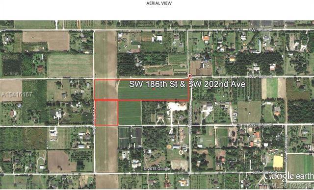 186xx SW 202 AVE, Homestead, FL 33187 (MLS #A10416167) :: The Teri Arbogast Team at Keller Williams Partners SW