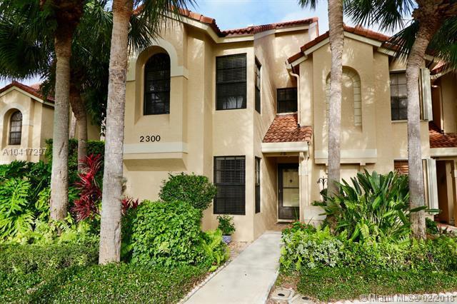 2300 Treasure Isle Dr A75, Palm Beach Gardens, FL 33410 (MLS #A10417297) :: The Teri Arbogast Team at Keller Williams Partners SW