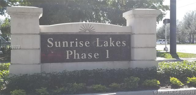 8000 N Sunrise Lakes Dr N #309, Sunrise, FL 33322 (MLS #A10419278) :: United Realty Group