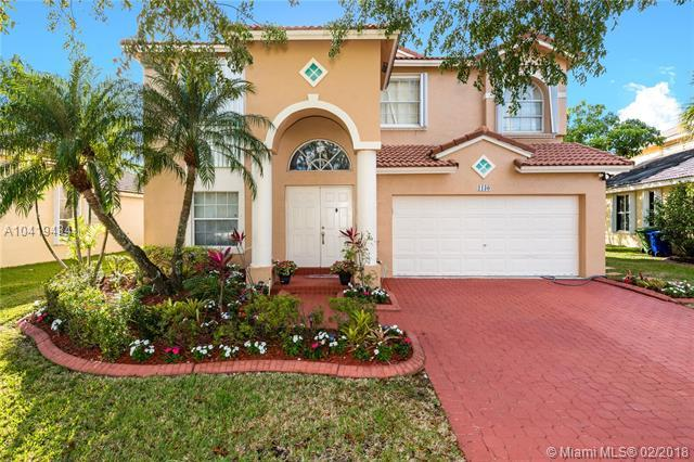 1130 NW 184th Pl, Pembroke Pines, FL 33029 (MLS #A10419434) :: The Teri Arbogast Team at Keller Williams Partners SW